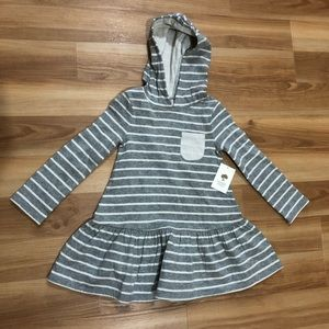 Tucker + Tate Nordstrom NWT 3T Dress Gray/ivory